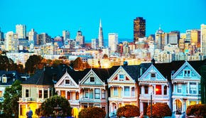 San Francisco enkelt by